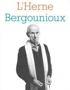 Cahiers de l'Herne sur Pierre Bergounioux, automne 2019.