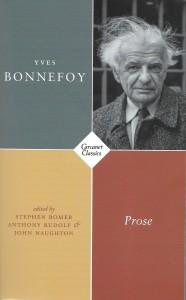 Yves Bonnefoy, Prose, several translators, Carcanet, 2019