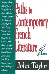 Paths to Contemporary French Literature, Volume 1, Transaction Publishers, 2004