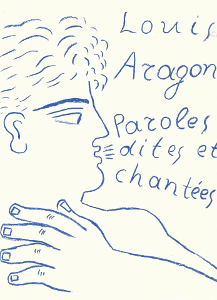 Louis Aragon, Words Said and Sung, Alcyon, 1992