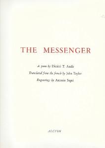 Dimitri Analis, The Messenger, Alcyon, 1992
